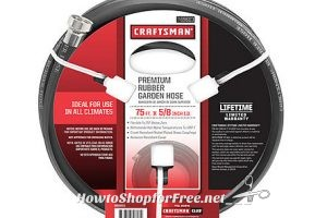 $19 Craftsman 75′ x 5/8″ Garden Hoses (Reg/$49) *Deal Idea*