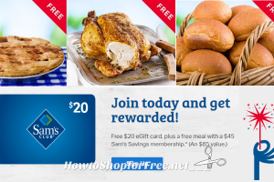 $45 Sam's Club Membership Package STILL Available! ($85 Value)