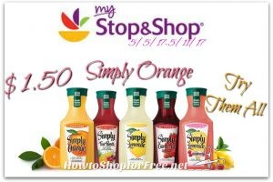 Wow Simply Juice only $1.50 at Stop & Shop (5/5/17-5/11/17)