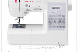 Singer Patchwork Quilting Machine $250 OFF!! Ships Free!