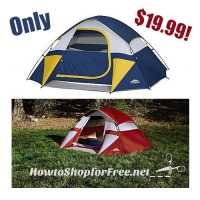 60% OFF Northwest Territory Sierra Dome Tent!!