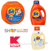 $7.99 Tide Products @ Kmart with Coupon + SYWR!