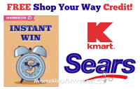 FREE Sears or Kmart Account Credit!