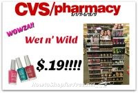 WOWZA Wet n' Wild Cosmetics .19¢ at CVS(5/7/17-5/13/17)