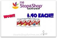 Hot Deal! Yoplait yogurts only .40¢ each at Stop & Shop (5/5/17-5/11/17)