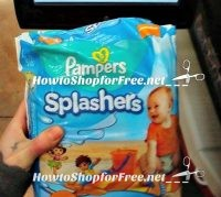Pampers Splashers for ONLY $3.47 at Walmart