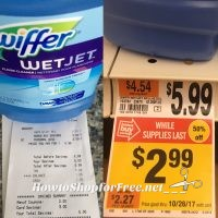 Swiffer Wet Jet Floor Cleaner $.99!