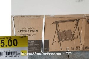 2 Person Swing for $25!! Grab Now @ 75% OFF!!!