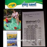 Crayola Play Sand for $1.75?! ~WOW, How FUN for Summer!