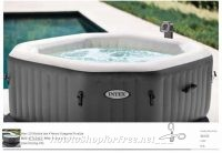 WOW, Intex 4 Person Octagonal Spa as low as $64!!