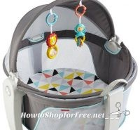 Fisher-Price On-The-Go Baby Dome UNDER $3!!!