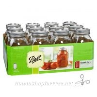 $6.99 Ball Canning Jars 12ct (32oz) at Job Lot this week!