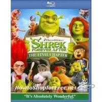 Shrek Forever After Blu-Ray 3D (or 2D Standard Def) 90% OFF!!!!