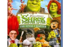 Shrek Forever After Blu-Ray 3D (or 2D Standard Def) 90% OFF!!!!