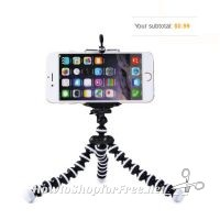 Octopus Style Mini Tripod 99¢ with Coupon Code!