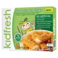 Stop & Stop RECALLS Kidfresh Fun-tastic Fish Sticks Due to Undeclared Traces of Milk
