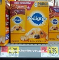 8ct. Pedigree Pouch Multipacks ONLY .98 at Walmart!!!!!