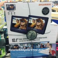 Sylvania Dual-Screen Portable DVD/Media Player – as low as $15!