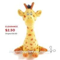 Kohl's Cares® Giraffe Plush ONLY $2.50!!