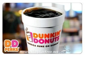 Dunkin Donuts $25 GC (Email Delivery) for ONLY $20! = $5 in Freebies!