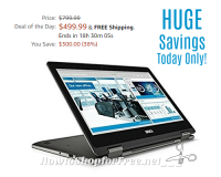 Today Only, Save $300 on a Dell Latitude Laptop!