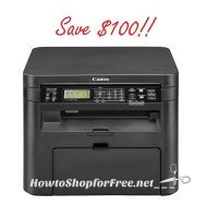 Canon imageCLASS B&W All-In-One Printer, $90 Today Only!