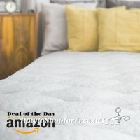 Cooling Mattress Pad w/Fitted Skirt $149.99 Today Only! Ships Free!