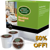 48ct. Green Mountain K-Cups for $15!!!