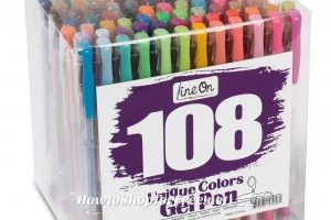 108ct. Colorful Gel Pen Set 79% OFF!!!