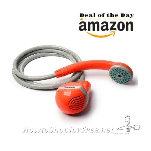 35% OFF Ivation Portable Handheld Shower ~Great for Camping!
