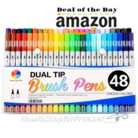 79% off Smart Color Art Dual Tip Brush Pens ~Today ONLY!