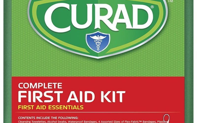 175pc Curad First Aid Kit $7 at Job Lot, Perfect for Camping!