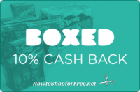 Earn 10% Cash Back on any Boxed Mobile Purchase with Ibotta