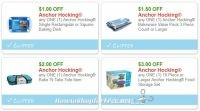 **NEW Printable Coupons** 4 Anchor Hocking Coupons Pre-Clipped for You!