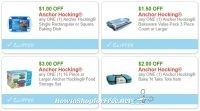 **NEW Printable Coupons** 4 RARE Anchor Hocking Coupons Pre-Clipped for You!