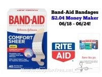 Money Maker on Band-Aid Bandages at Rite Aid 06/18 ~ 06/24!