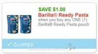 Barilla Ready Pasta just 50 cents at Big Y!!
