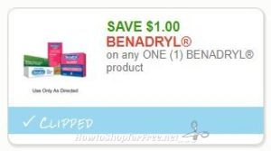 photo relating to Benadryl Printable Coupon named Fresh new Printable Coupon** $1.00/1 BENADRYL substance How in the direction of