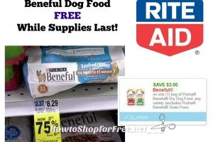 **HOT** Clearance Find – FREE Beneful Dog Food at Rite Aid While Supplies Last!
