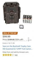 **Amazon Deal of the Day** Half Off Bushnell Trophy Cam ~ Today ONLY!