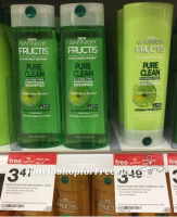 Garnier Pure Clean Shampoo & Conditioner Only $.23 at Target! 5/28 – 6/3