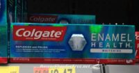MM Colgate Enamel Toothpaste at Walmart!