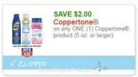 **NEW Printable Coupon** $2.00/1 Coppertone product (5 oz. or larger)