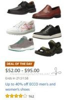 **Amazon Deal of the Day** Save up to 40% on ECCO Men's and Women's Shoes!