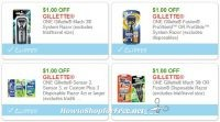 **NEW Printable Coupons** 4 Gillette Coupons Pre-Clipped for You!
