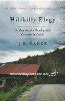 **Amazon Deal of the Day** Kindle Edition – Hillbilly Elegy – 82% off ~ ONLY $4.99!