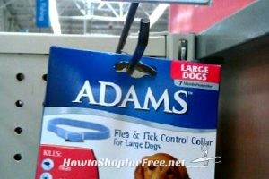 FREE+2¢ Overage on Adams Flea & Tick Collar @ Walmart!!!