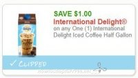 Print This Delicous Iced Coffee Coupon ASAP