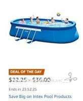 **Amazon Deal of the Day** Save Big on Intex Pool Products