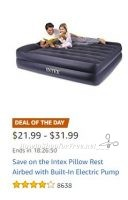 **Amazon Deal of the Day** Save on Intex Airbeds w/Built-in Pump